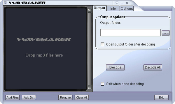 MP3转WAV工具(Wa...