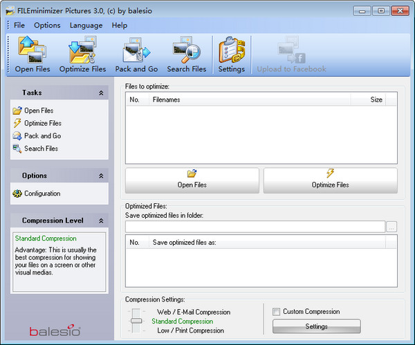 FILEminimizer Pictures v3.0