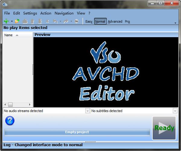 AVCHD Editor(编辑蓝光视频)