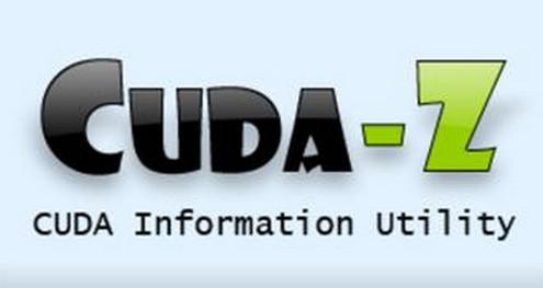 CUDA-Z(测试电脑速度) v0.9.231官方版