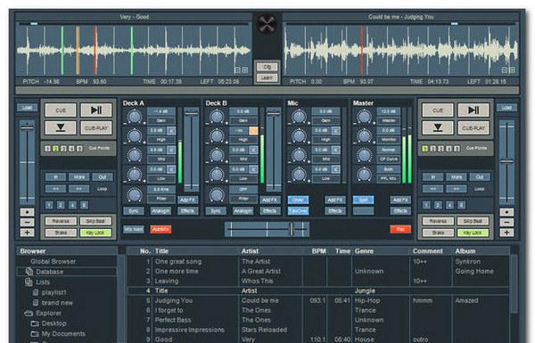 专业DJ混音软件(FutureDecks Pro)