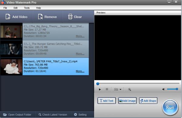 视频加水印软件(Video Watermark Pro)