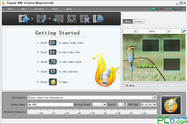 dvd制作软件(Tip...