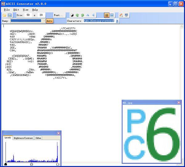 图片转字符画(ASCII Generator) 2.0绿色版
