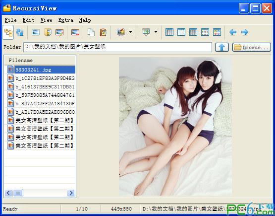 RecursiView(高级图片浏览器)