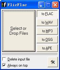 flac转mp3(FlicF...