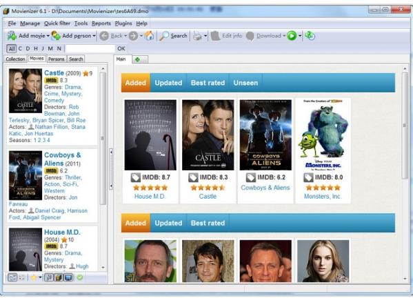 Movienizer(电影收藏管理软件)