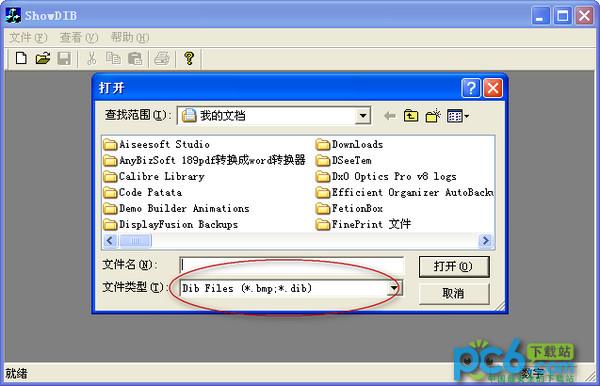 DIB位图显示(ShowDIB) 1.0绿色版