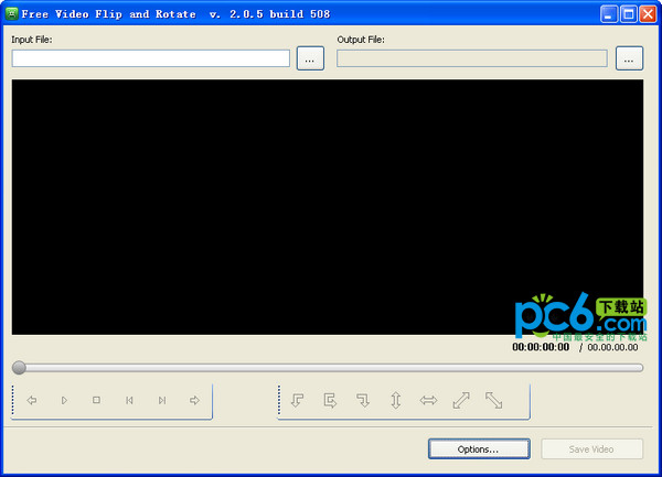 视频旋转软件(x2x free video flip and rotate) v2.05