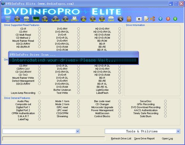光盘检测工具(DVDInfoPro Elite) v7.110 完美版