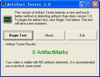 显卡显存测试小软件(Artifact Tester)