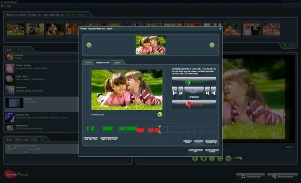 家庭影片制作软件(Muvee Reveal X)