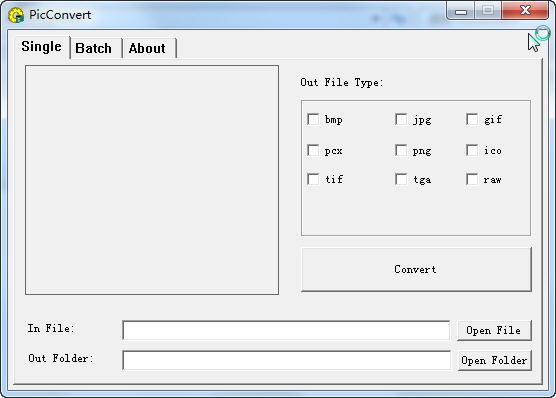 PicConvert(图像格式转换工具)