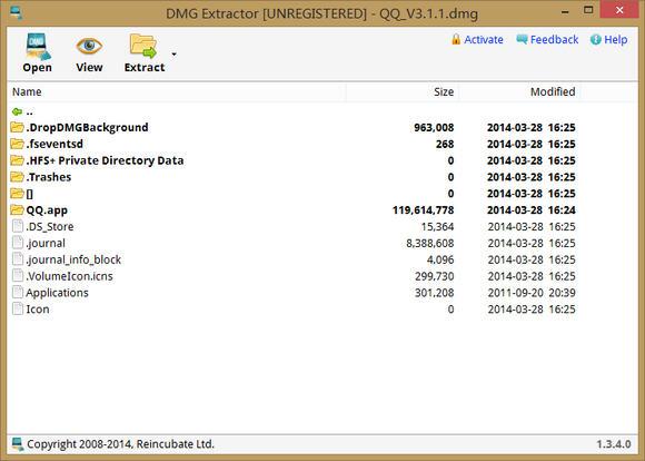 DMG解压软件(DMG Extractor) v1.3.4免费版