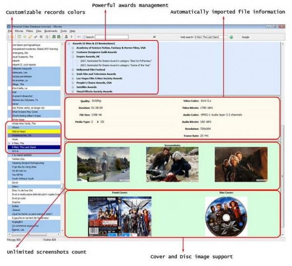 视频管理工具(Personal Video Database)