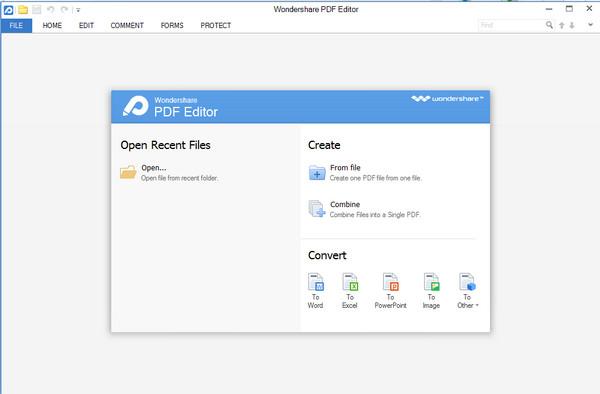 PDF编辑转换识别软件(Wondershare PDF Editor)