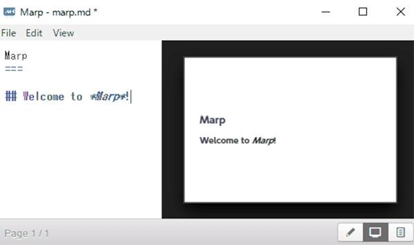 Marp(代码制作幻灯片软件)