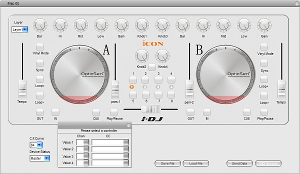 艾肯(iCON) IDJ混音控制器