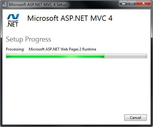 Microsoft ASP.NET MVC 4.0 官方安装包
