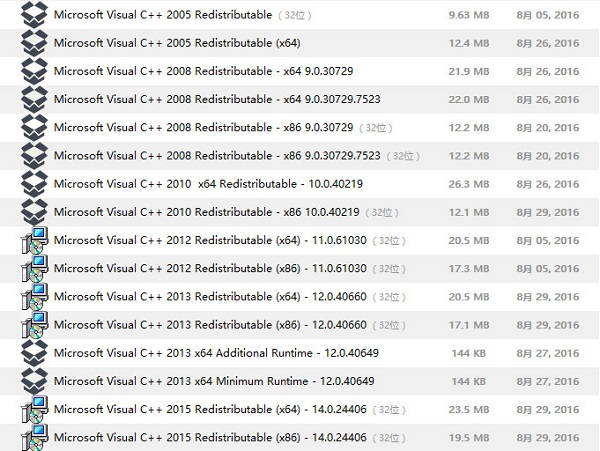RuntimePack(运行时库组件) v17.3.14官方安装版