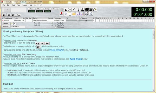 MIDI专业制作软件(Anvil Studio)