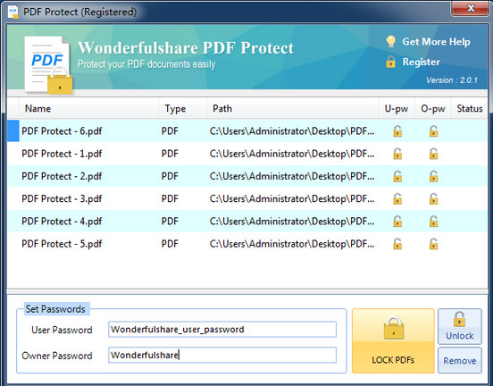 Wonderfulshare PDF Protect
