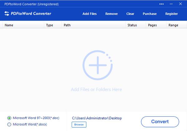 PDFtoWord Converter(全能PDF转Word转换器)