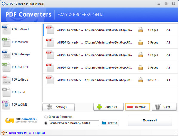 All PDF Converter(全能PDF转换器)