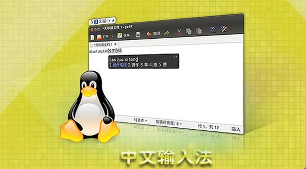 fcitx中文输入法...