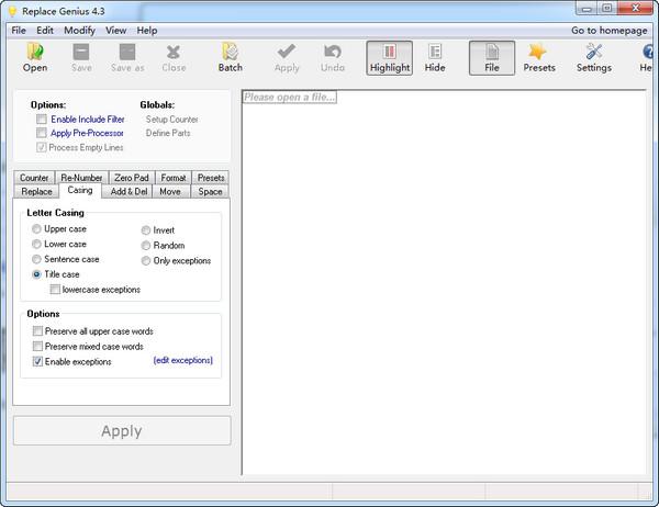 文档批处理软件(R...