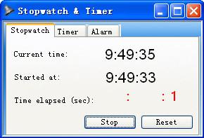 电脑秒表计时器(...