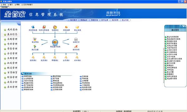 金管家信息管理系统