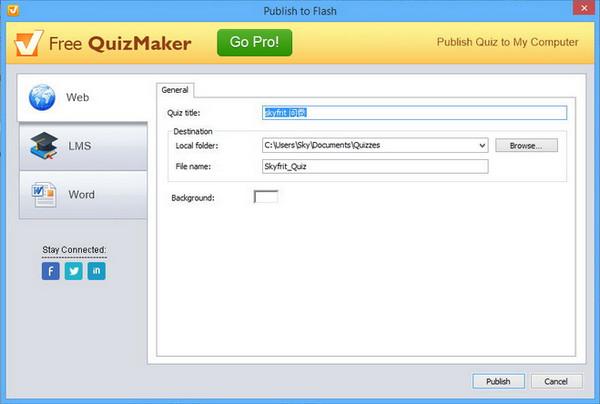 问卷调查制作软件(Quiz Maker)