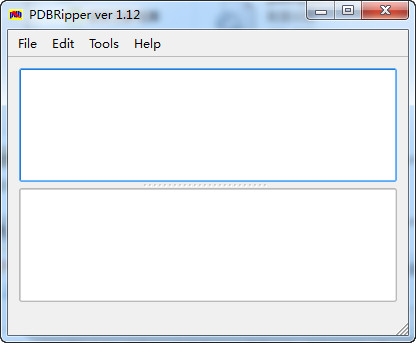 pdb文件提取工具(PDBRipper)