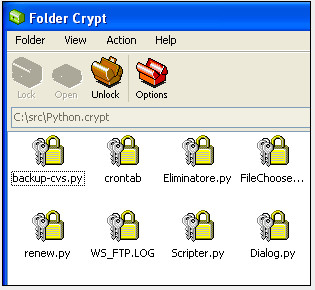 FolderCrypt