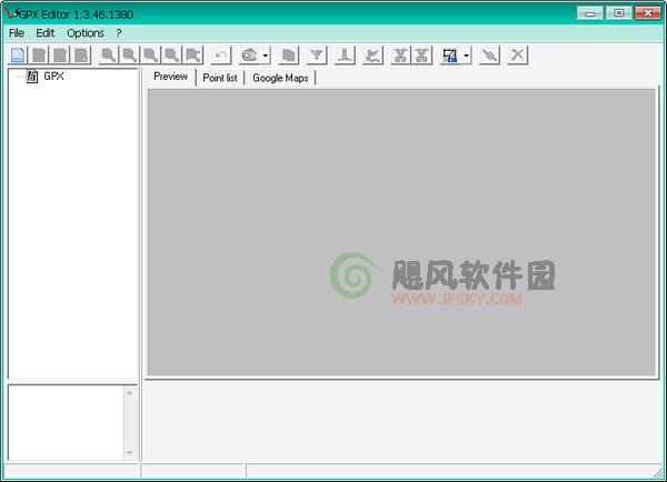 GPX Editor(生成矢量圖的工具)