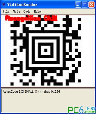 二维码识别软件(VidikonReader)