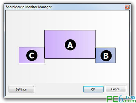 鼠标键盘共享工具(ShareMouse) 1