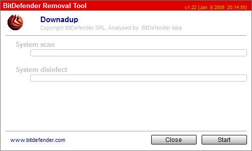 vmx病毒专杀工具(BitDefender Removal Tool) v1.22绿色免