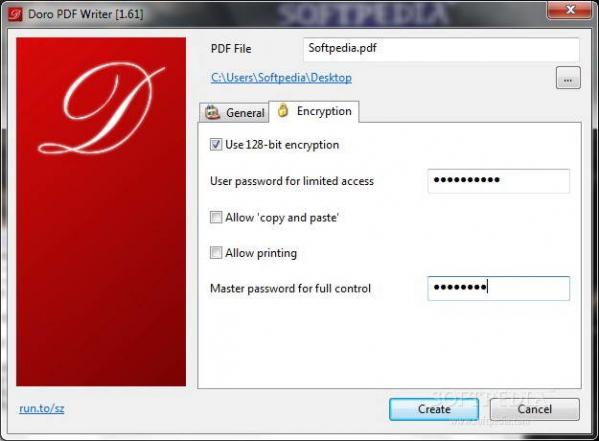 Doro PDF Writer(虚拟打印机) v2.10官方版