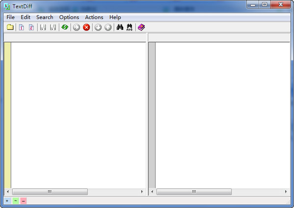 文本比较工具(TextDiff) 4.6绿色版