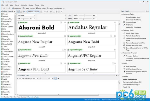 FontExpert(字体管理软件) v12.0免费版