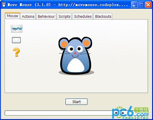 鼠标自动移动软件(Move Mouse) V3.1.0绿色免费版