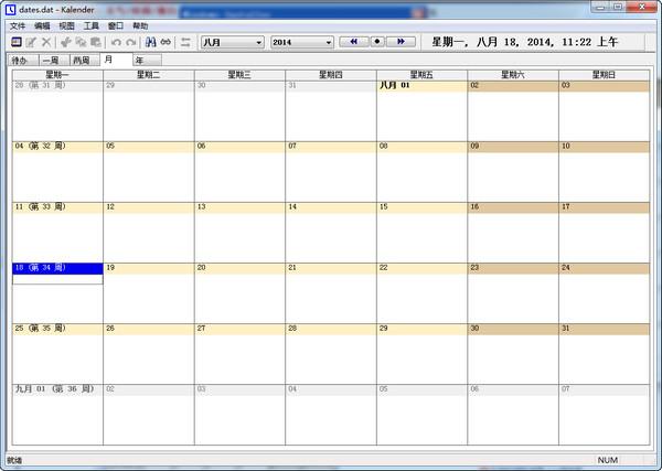 UK Kalender