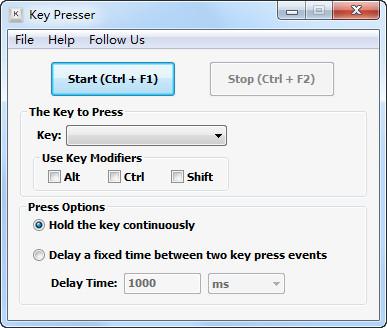 自动按键工具(Key Presser)