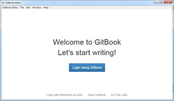 Gitbook editor windows(书籍编辑器)