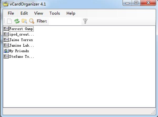 电子名片管理软件MicroProgsVCardOrganizer v4.1