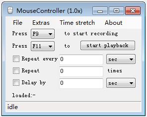 鼠标操作记录(MouseControllerv) v1.81官方版