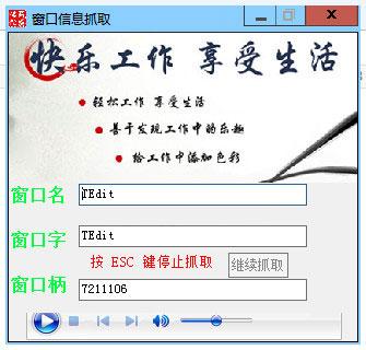 窗口信息抓取 v1.0免费版