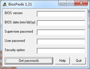 BiosPwds(获取Bios密码)